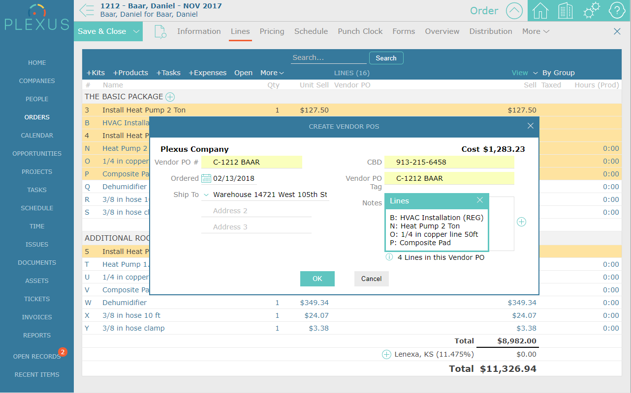 Plexus Features - Invoice processing jobs from home